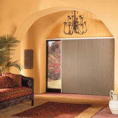 Slide-Vue Vertical Cellular Shades