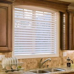 "Premium 2 1/2"" Faux Wood Blinds"