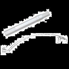 "Crystal Clear Flexible Arch Rod 40""-86"""