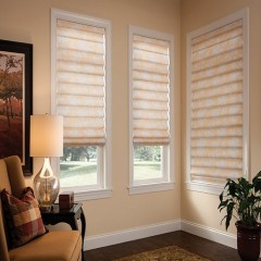 Envision Traditional Hobbled Roman Shades