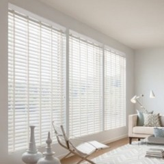 "Lake Forest 2 1/2"" Faux Wood Blinds"