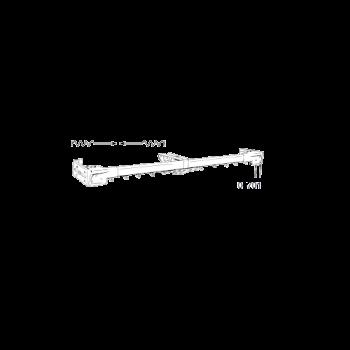 """Heavy Duty Two-Way Traverse Rod 120""""-228"""""""