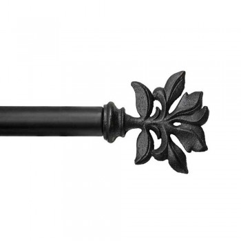 Indoor/outdoor Botanical Rod and Finial Set