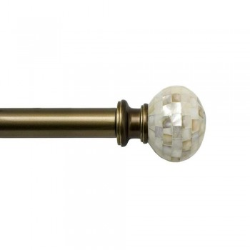 Pearl Rod and Finial Set