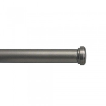 Pewter End Cap Rod Set