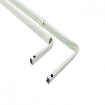 Double Lock Seam Curtain Rod 18-28 Inch