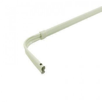 "Single Lock-Seam Curtain Rod 48-84"" Projects 3 1⁄2"""