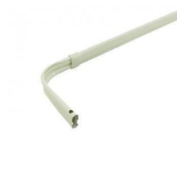 "Single Lock-Seam Curtain Rod 28-48"""