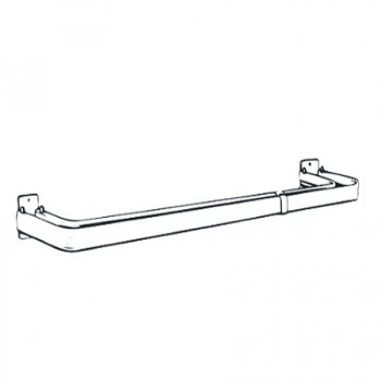 Double Lock-Seam Curtain Rod