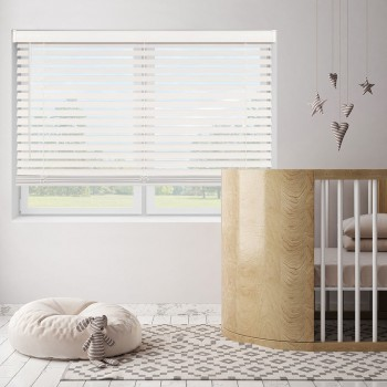 """Bravada Select 2"""" Stock Cordless Faux Wood Blinds"""
