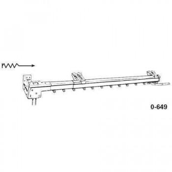 "Super Heavy Duty One-Way Left Traverse Rod 30""-48"" Adjustable Width"