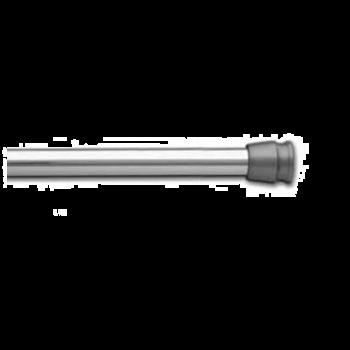 """1"""" Designer Spring Tension Rod 42""""-72"""", Chrome"""