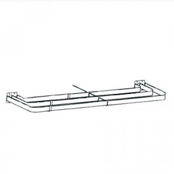 Triple Lock-Seam Curtain Rod